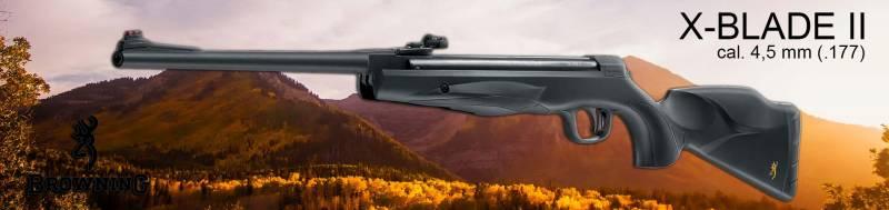 Browning X-Blade II Federdruck Luftgewehr mit Zielfernrohr Walther 4x32