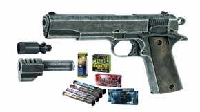 Komplettpakete: Pyrotechnik inkl. Waffe online kaufen