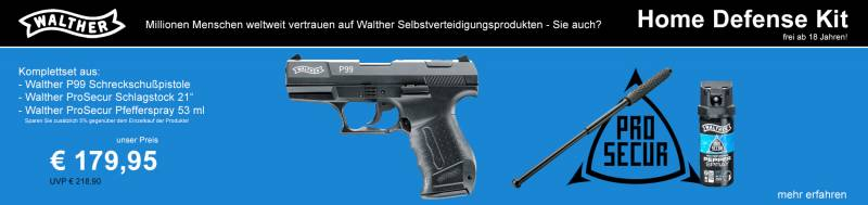 Walther Home Defense Kit by MEGA WAFFEN SOFTAIR SHOP