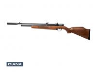 Diana Stormrider Pressluft Gewehr Kal. 4,5 mm Diabolo braun Buchenholzschaft