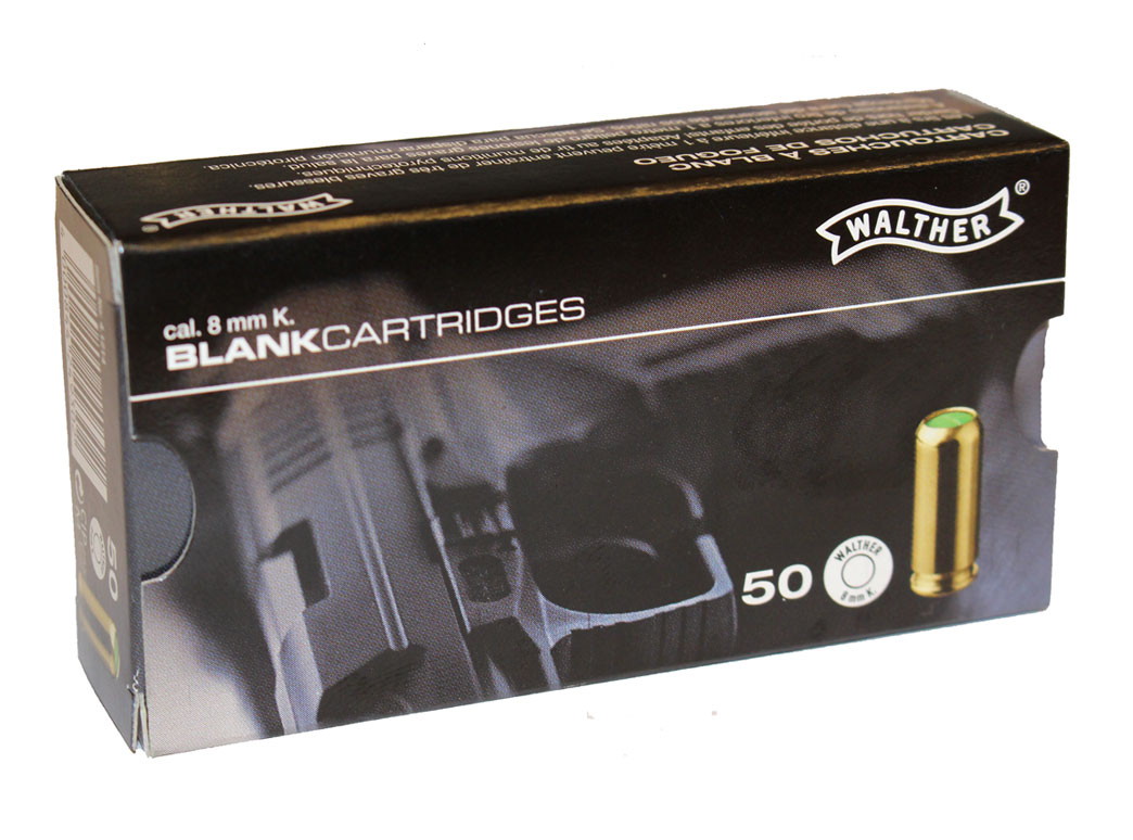 Platzpatronen Walther 8 Mm K Nitro 50 Stuck Munition