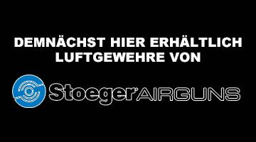Demnächst hier erhältlich - Luftgewehre von Stoeger AIRGUNS - Federdruck und Pressluft!