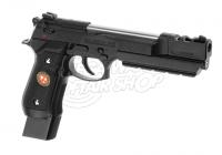 10523 - M92 Samurai Edge Biohazard Extended Full Metal Schwarz GBB  rechte Seite