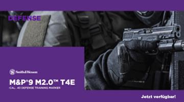 Smith & Wesson M&P9c M2.0 von T4E cal. .43 Makierer - jetzt verfügbar!