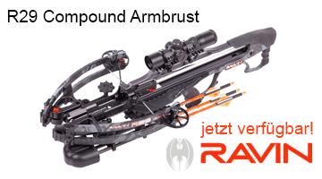 RAVIN Compound Armbrust R29 - jetzt verfügbar!