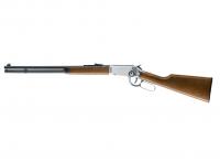 Legends Cowboy Rifle Luftgewehr cal. 4,5 mm (.177) Stahlrundkugeln Chrome-Finish