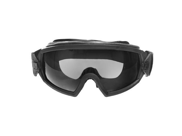 Bekleidung & Schutzausrüstung FMA Schutzbrille mod 2 in schwarz