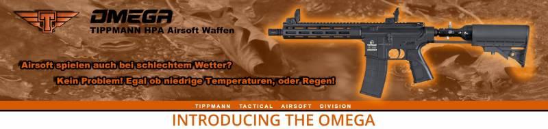 Neue HPA Airsoft Modelle von Tippmann!