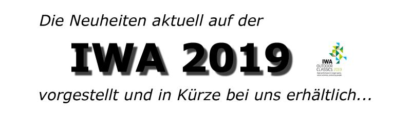 IWA 2019 Neuheiten