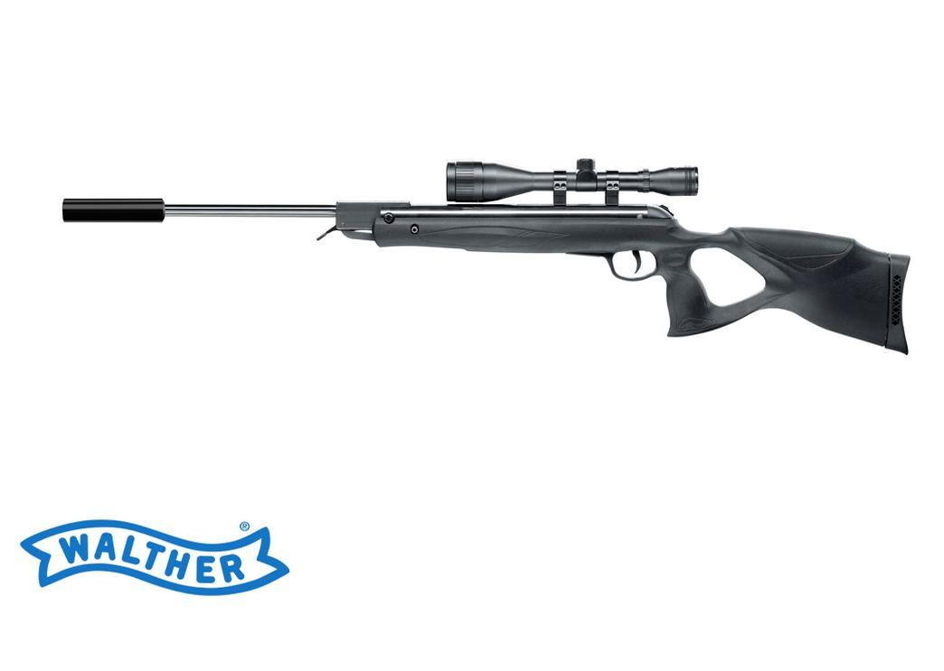 Walther century varmint luftgewehr 4 5 mm .177 diabolo schwarz mit
