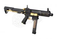 G&G ARP 9 Stealth Gold S-AEG Airsoftgewehr 6mm BB mit ETU Mosfet