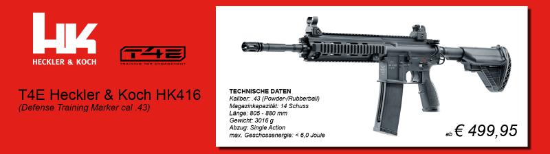 T4E Heckler & Koch HK416