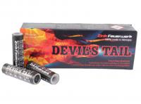 Zink Devil's Tail, Sternbombetten mit funkelndem Kometaufstieg und Cracklingspitzen