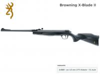Browning X-Blade II Federdruck Luftgewehr 4,5 mm (.177) Diabolo schwarz