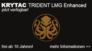 Krytac Trident LMG Enhanced Airsoft Rifle - jetzt verfügbar!