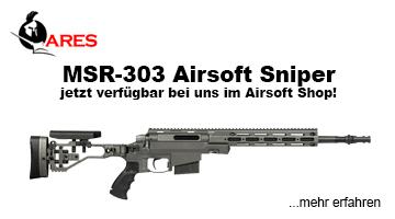Neu und verfügbar - ARES MSR-303 - frei ab 18 Jahren!