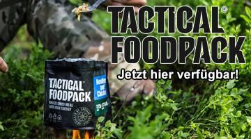 Jetzt verfügbar - Tactical Foodpacks - klein, platzsparend und lecker!