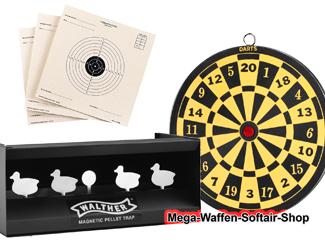 Kugelfänge und Zielscheiben für den Schießsport