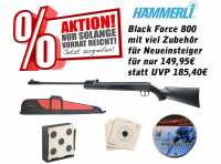 Federdruck Luftgewehr Hämmerli Black Force 800 cal. 4,5 mm (.177)