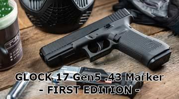 T4E Glock 17 Gen5 .43 Paintball Marker - First Edition - jetzt hier erhältlich!