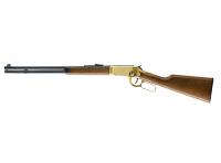 Legends Cowboy Rifle Luftgewehr cal. 4,5 mm (.177) Stahlrundkugeln Gold-Finish