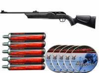 Hämmerli 850 AirMagnum CO2-Luftgewehr 5,5 mm Diabolo (.22) Sparset