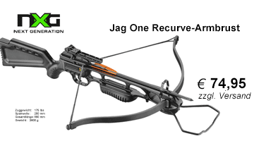 NXG Jag One Recurve Armbrust