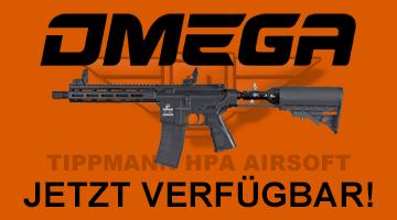 Tippmann Omega-PV Carbine 13ci HPA Airsoft Gewehr - jetzt verfügbar online & vor Ort!