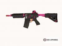 G&G GR4 G26 AEG Softairgewehr 6 mm BB schwarz pink mit 0,5 Joule Special Edition