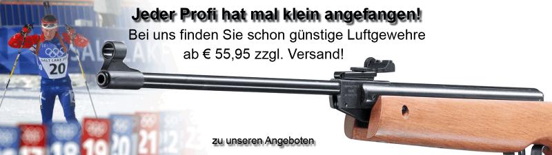 Günstige Luftgewehre im Luftgewehrshop online kaufen!