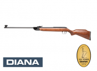 Diana 35 Commemorative Federdruck Luftgewehr 4,5 mm Diabolo braun