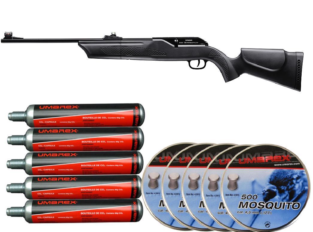 Hämmerli 850 airmagnum repetierer co2 luftgewehr 5 5 mm diabolo .22