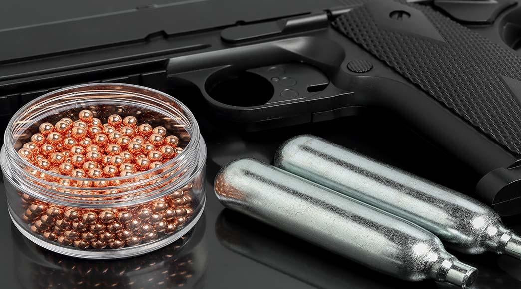 Luftpistolen und Revolver in großer Auwahl